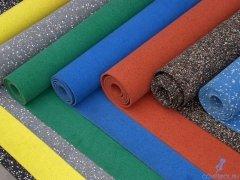Напольное покрытие из резиновой крошки