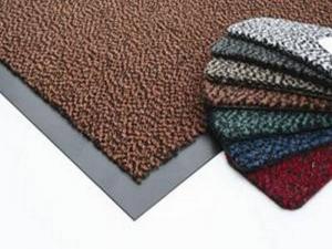 Грязезащитный ковер на резиновой основе 1,2 х 2,5м (коричневый)