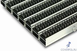 Грязезащитная решетка 20 мм (щетка-щетка)