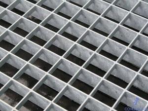 оцинкованная прессованная решетка 500х1000х33х33 мм