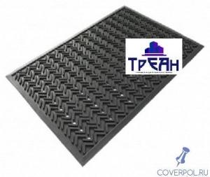 Резиновый коврик 60x90 см х 9 мм
