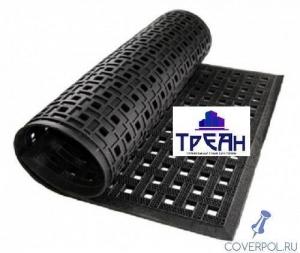 Резиновый коврик 80x120 см х 14мм