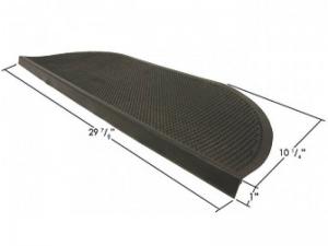 Резиновые накладки на ступени 250х750 мм шипы-полукруг