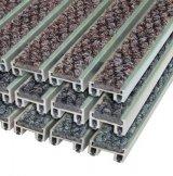 """Алюминиевая решетка с грязезащитными вставками """"ВходКовер"""" h-20мм ворс-ворс"""