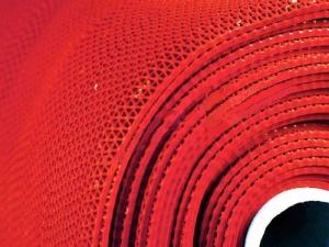 Зиг-заг 5 мм 0,9х15 м цвет красный